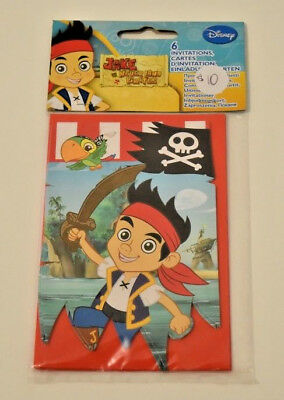 Disney Princess And Pirate Birthday Invite Invitation Jake The Neverland