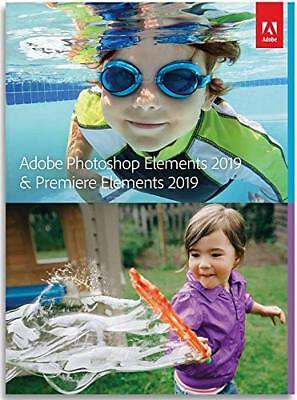 Adobe Photoshop Elements 2019 & Premiere Elements 2019 | Standard | PC/Mac Disc
