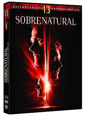 Supernatural Staffel/Season 13 deutscher Ton DVD BOX NEU & OVP