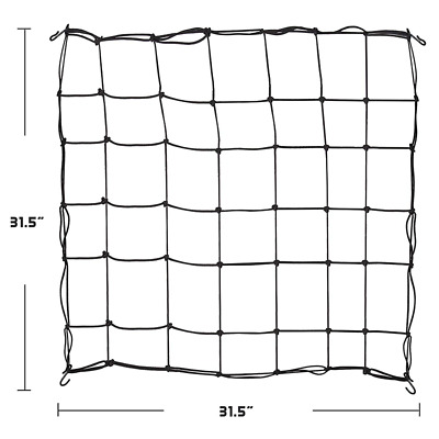 80*80cm Hydroponic Scrog Net Plant Support Mesh Grow Tent Netting Black