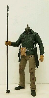 """NECA Friday The 13th Part 6 """"Jason Voorhees"""" Body & Weapons For 7"""" Custom Fodder"""