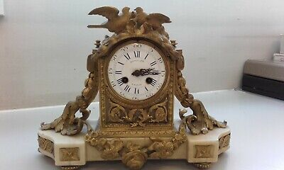 Spares & Repairs Antique French Mantle Clock For Parts/Restoration Collect SE12