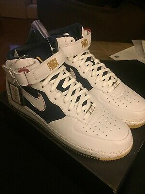 2007 NIKE AIR Force 1 Mid Supreme MCO CB Barkley Size 12