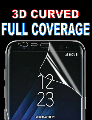 Full Coverage Screen Protector Cover 3D Curved Film For Samsung Galaxy S8 S9 S10