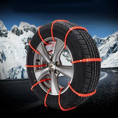 Anti-skid Chains Car Snow Mud Wheel Tyre Thickened Tire Tendon Chains Universal