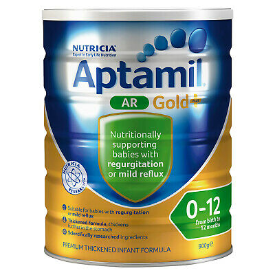 Aptamil AR Gold+ Infant Formula From birth to 12 months 900g
