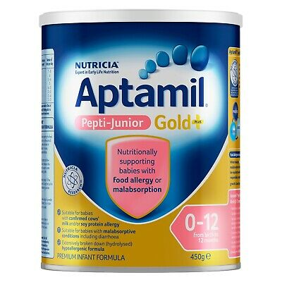 Aptamil Pepti-Junior Gold+ 0-12 From Birth To 12 Months 450g