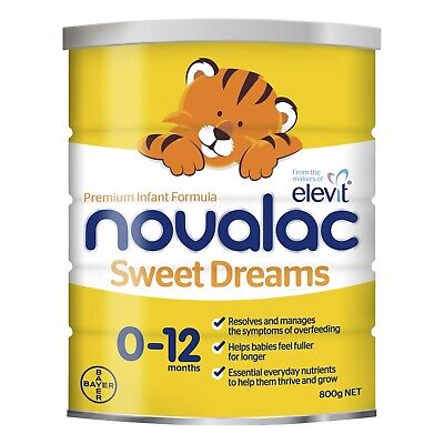 Novalac Sweet Dreams Nutritionally Complete From Birth To 12 Months 800g