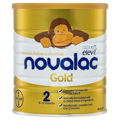 Novalac Gold Nutritionally Complete 2 From 6-12 Months 800g