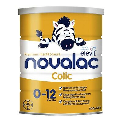 Novalac Colic Nutritionally Complete From Birth To 12 Months 800g