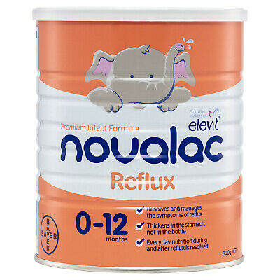 Novlac Reflux Nutritionally Complete From Birth To 12 Months 800g