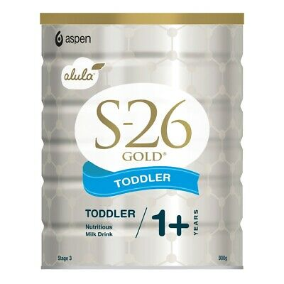 S-26 Alula Gold Toddler 1+ Years 900gn Infant Formula Milk Substitute