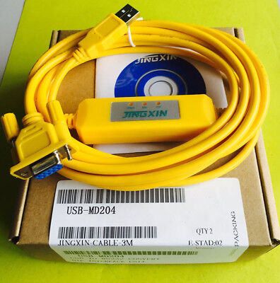 USB-MD204 PLC Programming Cable for MD204L/MD306/TD200/OP320/OP330/TP760