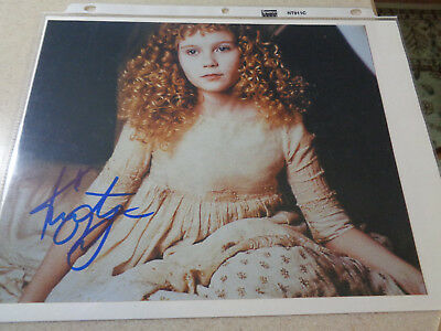 Kirsten Dunst - Interview with the Vampire signed 8x10 color photo w/COA