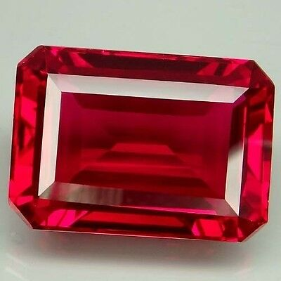 36.65Ct. Winsome!!! Red Topaz Emerald