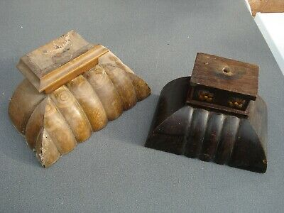 Base Carvings From A Vienna Wall Clock Cases Parts Spares