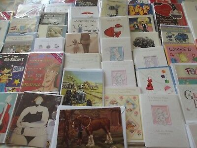 300+ Wholesale Mixed Joblot ..Birthday/Etc Greetings Cards..B9