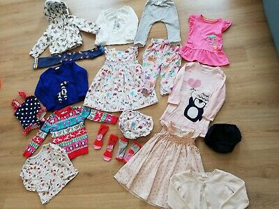Bundle Of Girls Clothes Aged 18 Months To 2 And 2-3 Years including Next, Gap