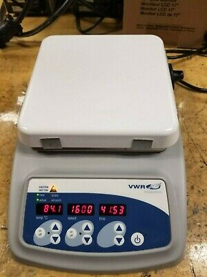 "Vwr Ceramic Hot Plate Stirrer Combo 2500 Ml 7"" X 7"" 1000W"