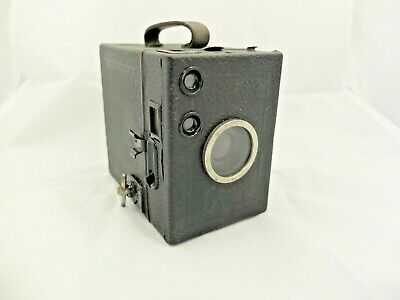 Zeiss Ikon Box Camera, With Original Case, Working (Not Tested With Film)   #ns#