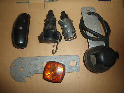 Joblot 6 x towing linkup parts and trailer bits (2 x new parts)