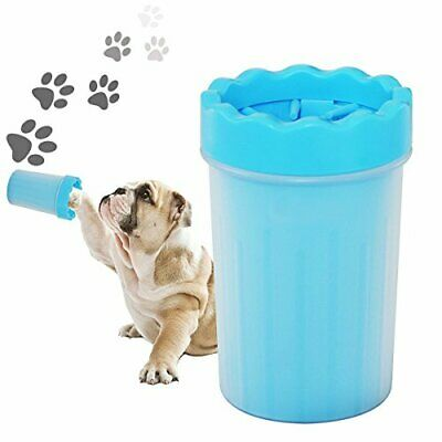 Portable Dog / Pet Paw Plunger (Small - Blue) Mud Cleaner / Washer ~ Mudbuster