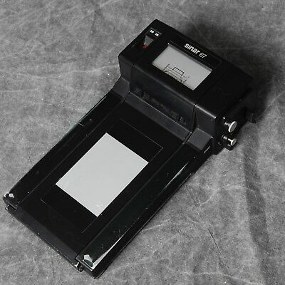 SINAR 6x7 120 ROLL FILM HOLDER IN GOOD CONDITION