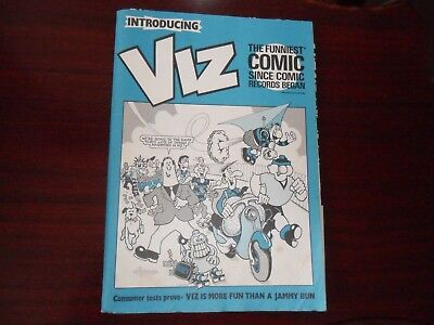 Viz comic Promotional pack 1989 Complete  Adults only.