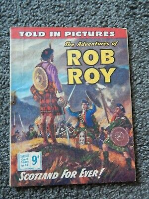Thriller Comic Libraries #86 The Adventures of  Rob Roy