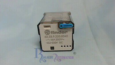 Finder - 62.33.9.220.0040 - plug in relay - 16A - 250V