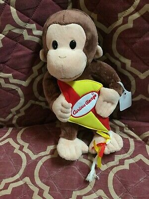 "11.5"" Curious George with Kite Plush by Gund #4059061"