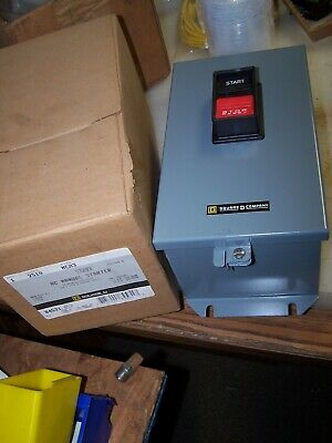 New Square D 2510Mca3 Series C Size I Manual Motor Starter