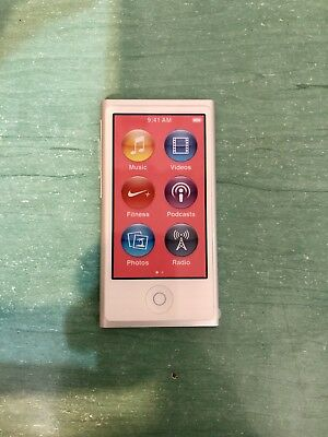 Apple iPod nano 7th Generacion Plata