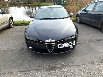 Alfa Romeo 159 Limited Edition 1.9 JTDm 6 Speed 128k FSH 1 owner Black Leather