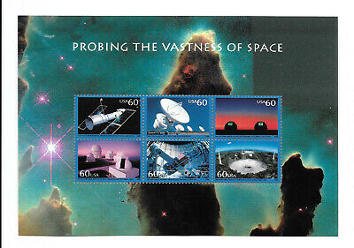 United States:Sc.3409238 Probing the vastness of space sheet MNH    (see scan)