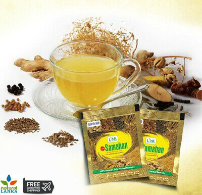Link SAMAHAN Ayurveda 100% NATURAL REMEDY Herbal drink Sachet for Cough & Cold