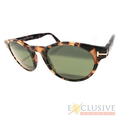 764c3a5d10 NEW TOM FORD Tf522 Palmer Sunglasses Color 56N Tortoise Size 51-21 ...