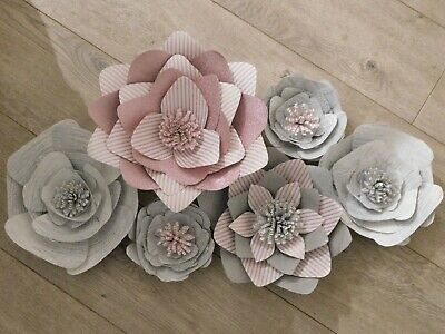 giant paper wall flowers