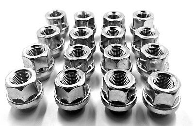 16 X Alloy Wheel Nuts For Ford Zetec Titanium Ghia M12 X 1.5 17Mm,bolt,lug, [29]
