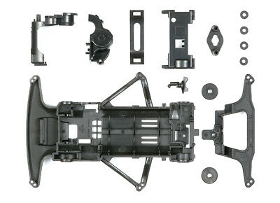 Tamiya 95239 Mini 4Wd Carbon Reinforced Super Fm Chassis Set - Telaio Carbon