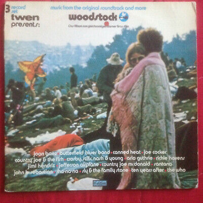 3xLP WOODSTOCK (Music from the Original Motion Picture) ATLANTIC SD3-500 Deutsch