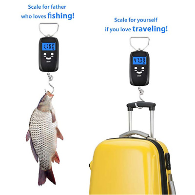 50kg Digital Travel Fish Luggage Hanging Hook Electronic Weighing Scale Portable