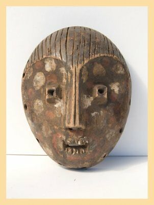 HAIRY BWA - A Bwami Mask from the Lega Tribe of the Congo. Tribal, Ethnic Africa