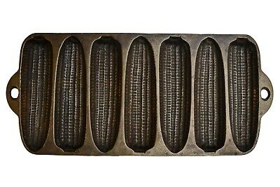 Vintage Wagner Ware USA 'C' Cast Iron Corn Bread Muffin Pan
