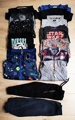 Boys Clothes Bundle Age 2-3 Yrs - Diesel Next M&s - T-Shirts / Jumpers / Joggers