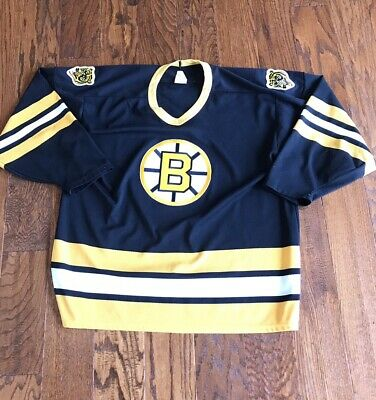 Vintage CCM Boston Bruins NHL Hockey Jersey Mens XL 80s 90s Stitched C 6a76ae6e7