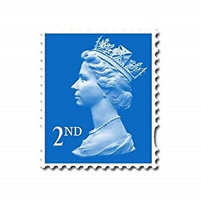 BRAND NEW 2nd Class Postage Stamps Second Class Small Large UK Stamps