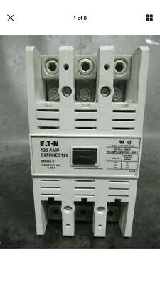 EATON CONTACTOR C25HNE3120 600V 140 AMP/RES 3 PHASE 110-120 VAC Coil New