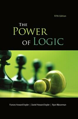 P.D.F The Power of Logic 5th Edition by Frances Howard-Snyder Dr.