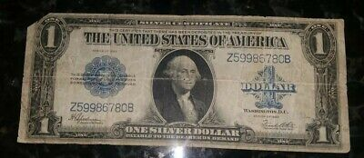 1923 Circulated Large One Dollar $1 Silver Certificate